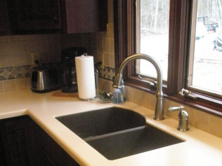 Ksoild Top Quartz Sink